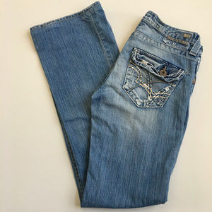 "Big Star 'Casey K Low Rise"" Fit Boot Cut Jeans XL"